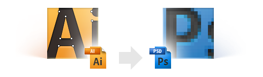 Exporting design comp from AI to PSD the right way: part 2  useful tips