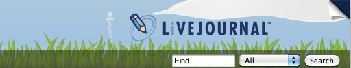 Spring background for LiveJournal