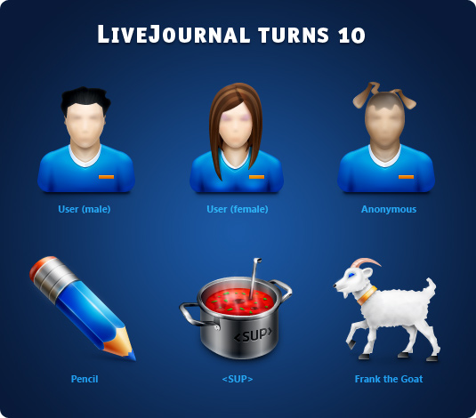 LiveJournal turns 10