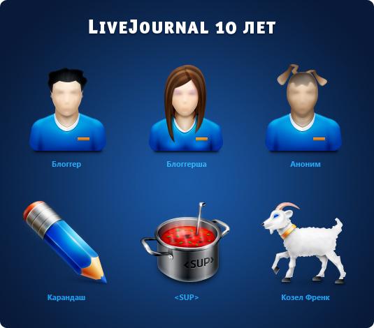 LiveJournal 10 лет
