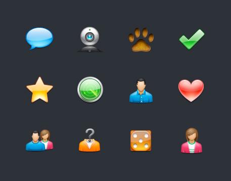 Badoo Icons