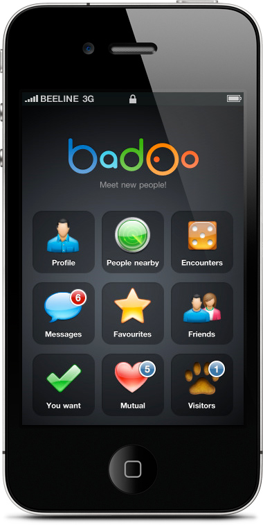 iPhone Badoo Icons