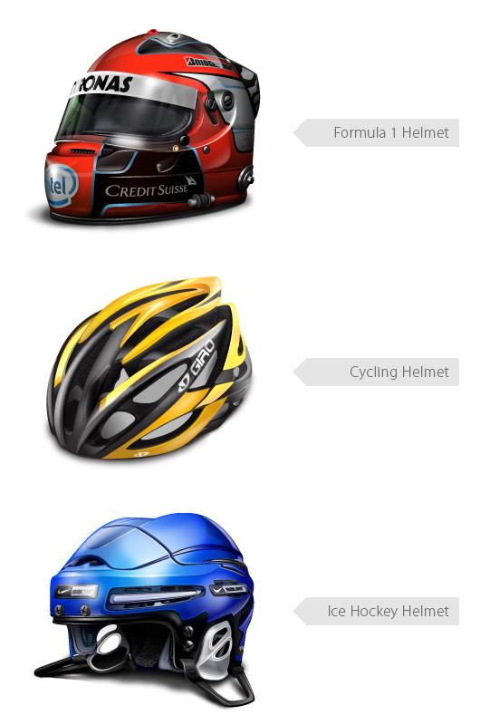 Helmets for Holdet.dk