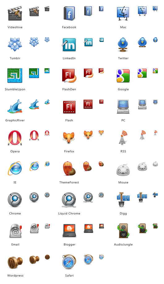 GraphicRiver icons