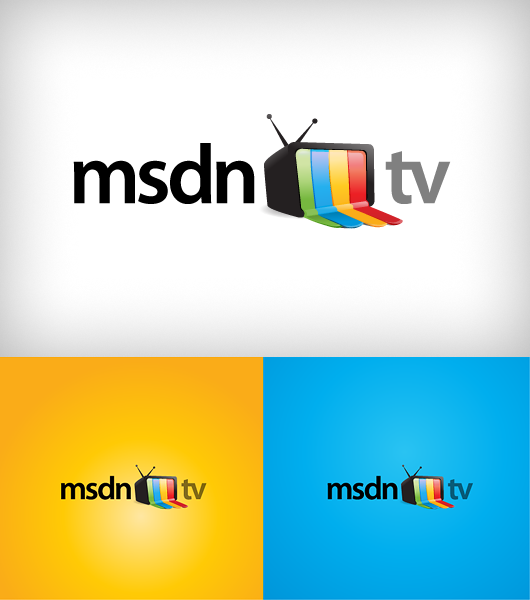 Logo Design Msdn Tv Turbomilk