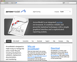 ArrowModel website