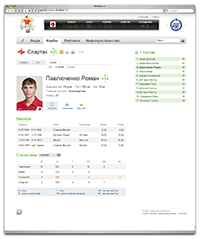 Player's profile