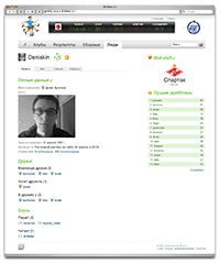 User's profile